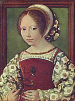 A Young Princess (Dorothea of Denmark0), c.1530, mabuse