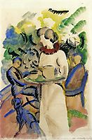 Afternoon in the Garden, 1913, macke