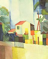 Bright House, 1914, macke