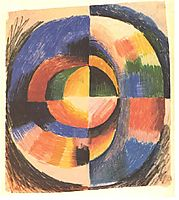 Colour circle, macke