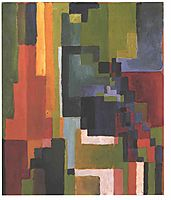 Colourfull shapes, 1913, macke