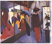 Fashion Store, 1914, macke