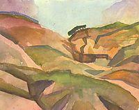 Gorge, 1914, macke