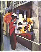 The Hat Shop, 1913, macke