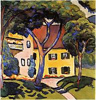 House in a Landscape , macke