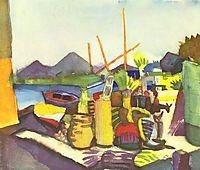Landscape nearHammamet, 1914, macke