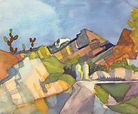 Rocky Landscape, 1914, macke