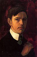 Self-portrait, 1906, macke