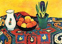 Still lifehyacinthscarpet, 1910, macke