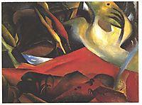 The Storm, 1911, macke