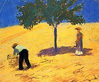 Treein the cornfield, 1907, macke