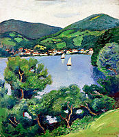 View of Tegernsee, macke