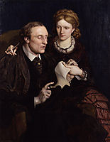 Henry Fawcett, Dame Millicent Garrett Fawcett, madoxbrown