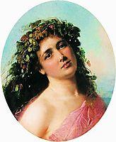 Bacchante, c.1870, makovsky