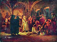 Boris Morozov and Ivan the Terrible, makovsky