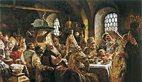 The Boyars- Wedding, 1883, makovsky