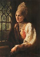 The Boyarynia, 1885, makovsky