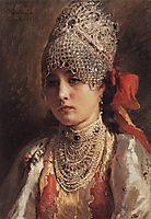 Boyaryshnya, 1884, makovsky