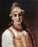 Boyaryshnya, c.1890, makovsky