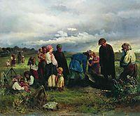Child Funeral, 1872, makovsky