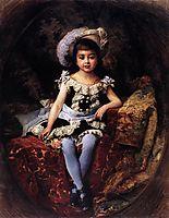 Child Portrait, 1879, makovsky