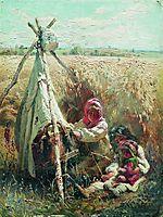 Children in a Field, 1870, makovsky