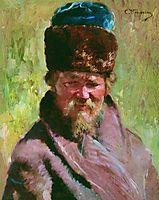 Coachman, c.1900, makovsky