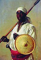 Egyptian Warrior, 1871, makovsky