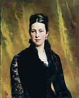 Female Portrait, 1883, makovsky