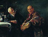 Friends, 1895, makovsky