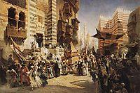 The handing over of the Sacred Carpet in Cairo, makovsky