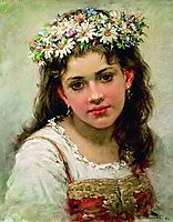 Head of the Girl, makovsky