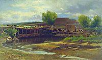 Landscape with Lake, makovsky