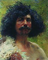 Man Head, 1897, makovsky