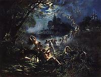 Mermaids, 1879, makovsky