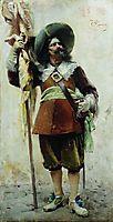 Musketeer, c.1880, makovsky