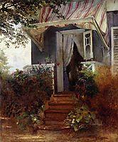 On the Steps, makovsky