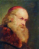 Portrait of an Old Man, c.1860, makovsky