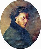Portrait of Artist K.Bornikov, makovsky