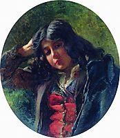 Portrait of the Boy, 1875, makovsky