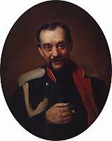 Portrait of the composer Cesar A. Kyui , makovsky