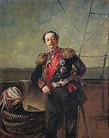 Portrait of the Count Nikolay Muravyov-Amursky, makovsky