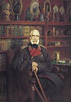 Portrait of Count Sergei Grigoriyevich Stroganov, makovsky