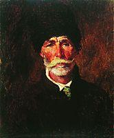 Portrait of E.Gilechenko, makovsky