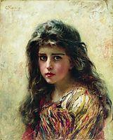 Portrait of the Girl, makovsky