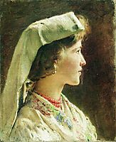 Portrait of the Girl, c.1910, makovsky