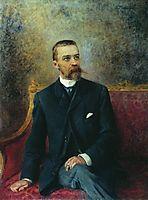 Portrait of A.Kuzhetsov, c.1890, makovsky