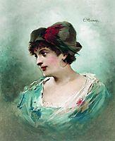 Portrait of Maria Petipa, c.1900, makovsky