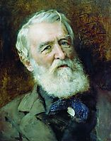 Portrait of the Wrighter D.Grigorovich, makovsky