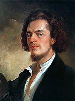 Self-Portrait, 1856, makovsky
